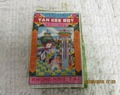 """Special Listing for Cameron 1960""""s Yan Kee Boy Firecrackers Fireworks Label"""