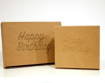 Happy Birthday box | Personalized packaging