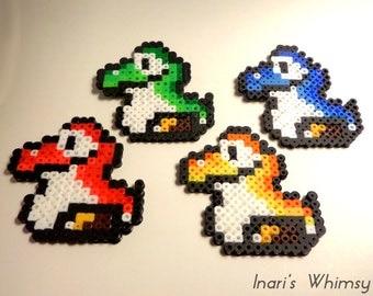 Baby Yoshi | Yoshi Egg - Super Mario World Perler