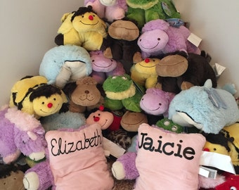 Pillow Pets with HTV