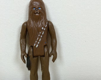 """Vintage Star Wars Chewbacca the Wookie Action Figure - 3.75"""" - 1977"""