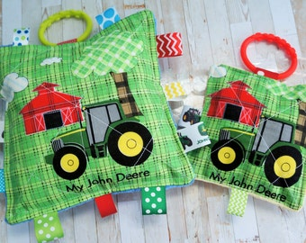 Baby Boys Toy, My John Deere Prints,  Choose from the large 7 inch, or the small 5 inch or the set.