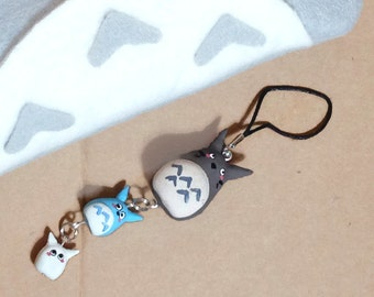 Forest Family Phone Charm
