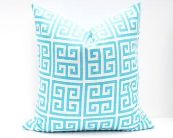 Decorative Pillows - Throw Pillow covers - Blue Pillow - Throw Pillows - Pillow covers 20x20 - Pillow covers 18x18 - lumbar - Aqua Blue