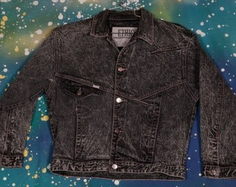 1980s DENIM Jacket ETHICS Women's Size M