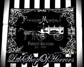 S A L E Foolish Mortals Cosmetic Bag