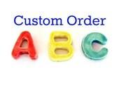 Ceramic Letters Mosaic Tiles for Debby