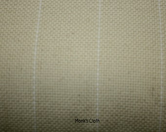 Cotton Monk's Cloth for Rug Hooking and Oxford Rug Punch 30 x 36 inches