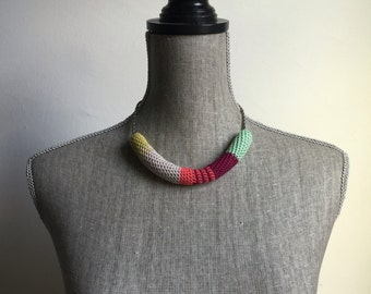 Crochet Vintage Chain Necklace