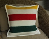 Glacier National Park Blanket Throw Pillow | 18"