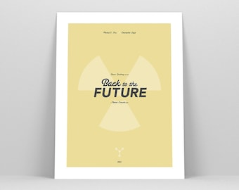 Back to the Future ~ 80s Movie Poster, Art Print by Christopher Conner