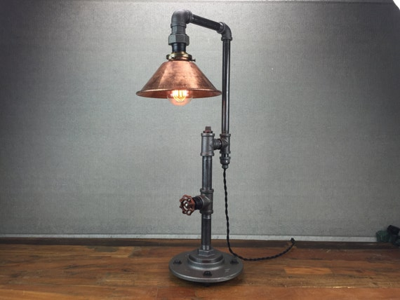 Edison Table Lamp Industrial Furniture Iron Pipe Lamps