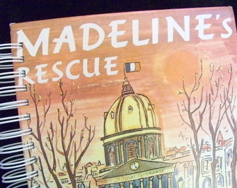 Madeline's Rescue blank book journal or diary