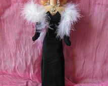 Marilyn Monroe doll by artist Natalia Basarab. Handmade doll with dresses. Hollywood Legends Collection. Collector Edition. Marilyn gift