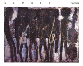 Jean Dubuffet- Jazz Band (1990) SKU: CB2866