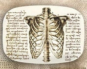 rib cage - Da Vinci style melamine platter