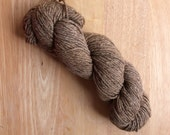 O-wool Balance Yarn Agate Soft Brown Natural Eco-friendly Organic Cotton Merino Wool Yarn Destash Sale