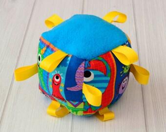 Infant Boy Toys - Monster - Boy Toys - Rattle - 1498