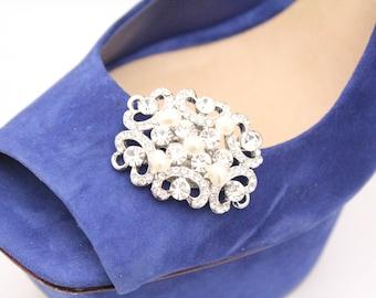 Shoe clips,Wedding shoe clips,Bridal shoe clips,Wedding accessories shoes clips,Rhinestone shoe clips,Pearl shoe clips,Crystal shoe clips