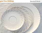 On Sale Mid Century Bavarian China Set of Mismatched Plates, Set of 4,  Jaeger and Co., Stratford, Newport