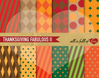 Thanksgiving Papers Thanksgiving Pattern Autumn Digital Background Paper Thanksgiving Digital Scrapbooking Geometric Patterns