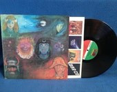 "RARE, Vintage, King Crimson -""In The Wake Of Poseidon"", Vinyl LP Record Album,Original Matte Finish Sleeve, Pictures Of A City, Psych Prog"