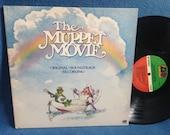 "RARE, Vintage, ""The Muppet Movie"" Original Soundtrack Vinyl LP, Record Album, Rainbow Connection, Electric Mayhem, Kermit The Frog, Frank Oz"