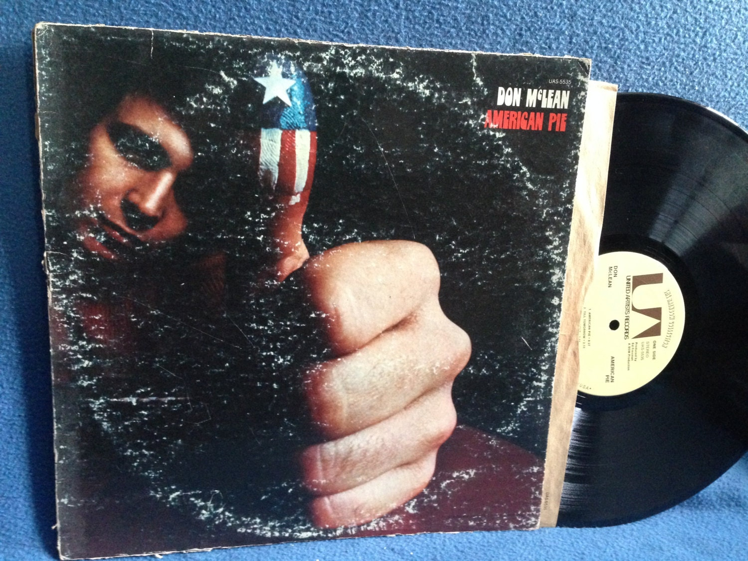 vintage don mclean american pie vinyl lp record. Black Bedroom Furniture Sets. Home Design Ideas