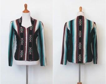 Vintage womens western blouse