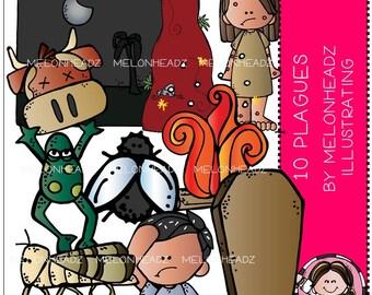 10 Plagues clip art