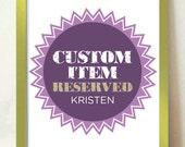 Custom item for Kristen, Enjoy the Ride, custom colourway, 16 x 20 inch print