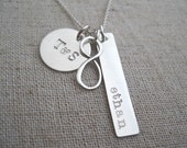 Persoanlized Family Infinity Necklace