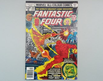 Fantastic Four issue 179 / 1977 / Vintage Bronze age Marvel comic / Stan Lee & Jack Kirby