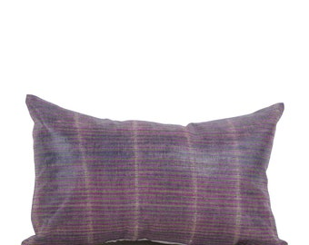 12 x 20 Pillow Cover Ikat Pillow Cover Old Ikat Pillow Cover Throw Pillow Decorative Pillow FAST SHIPMENT with ups or fedex - 09008