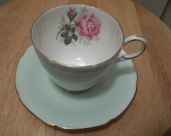 Vintage Paragon Rose Cup and Saucer
