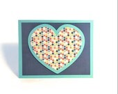blues heart card for long distance romance, men, women, anyone