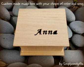 music box, wooden music box, custom made music box, customized music box, personalized music box, musical box, christmas gift, 1st christmas