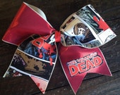 The Walking Dead Cheer Bow