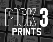 Pick Any 3 Prints from Benton Park Prints