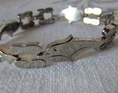 Bracelet Dolphins Sterling silver