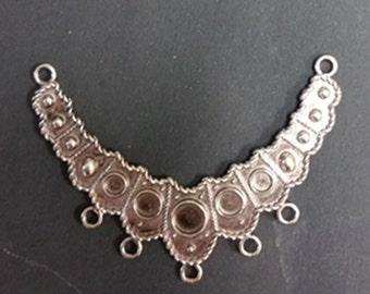 1pc antique silver chandelier component-3824