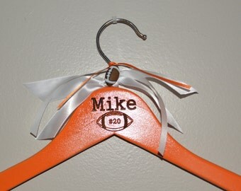 Athlete Hanger Wood Personalized-Engraved
