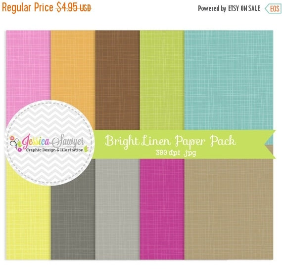 80% OFF - INSTANT DOWNLOAD,  bright linen paper - 8.5 x 11 - texture background - commercial use -  - scrapbooking - card making