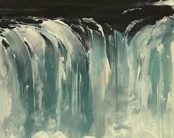 Niagara Falls- Original Acrylic Painting