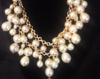 Cream Pearls Set