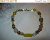 50% OFF Art glass beaded necklace