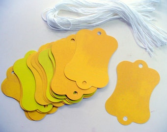 Fold Over Cards, Jewelry Tags, Bracelet Tags, Scarf Tags, Price Tag Cards, Craft Tags, Fold Over Display Tags, Fold Over Tag