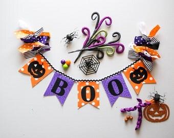 HALLOWEEN BANNER by Sweet Georgia Sweet / Halloween decorations / Halloween birthday / Halloween baby shower / Pumpkin birthday banner