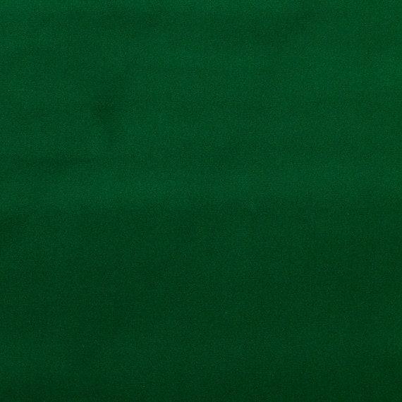 Forest Green Velvet Upholstery Fabric Solid Color Velvet For
