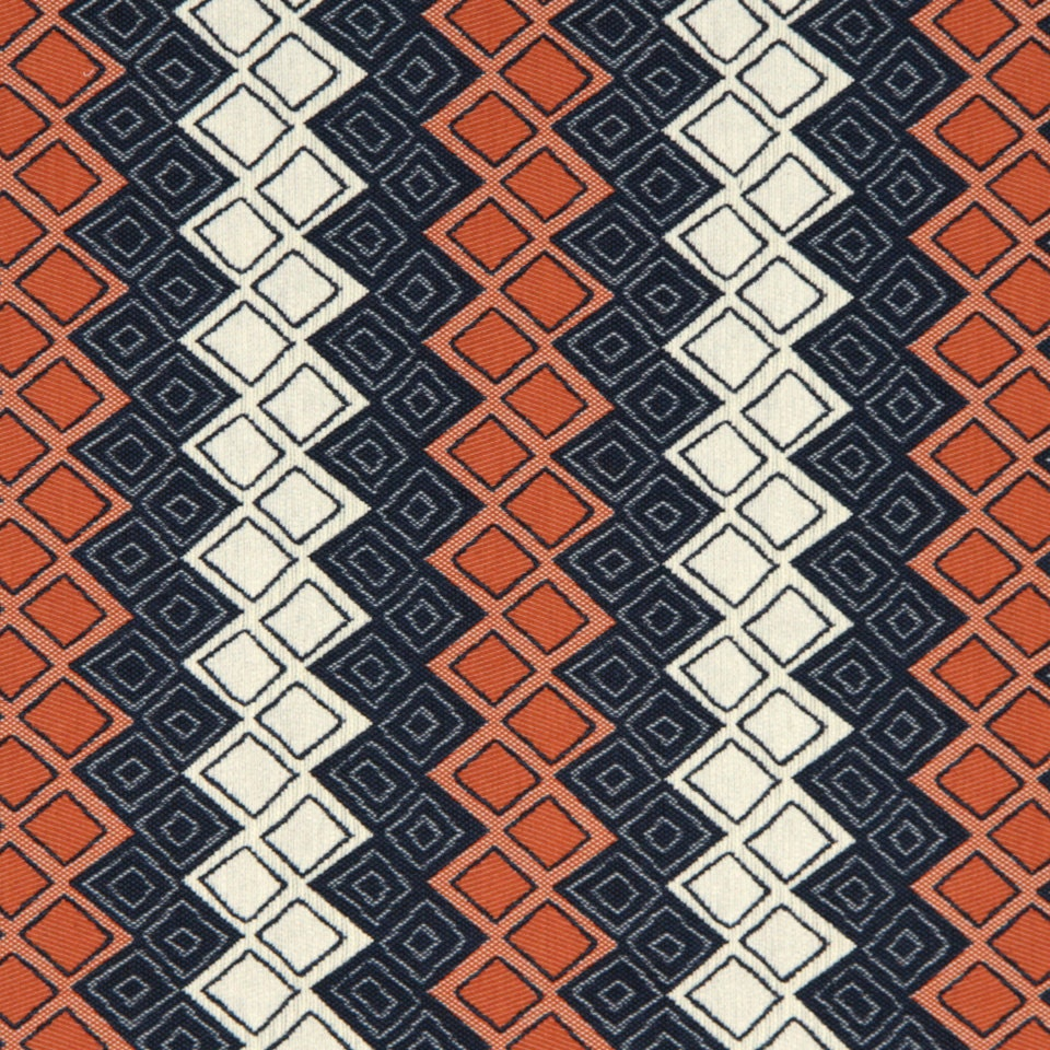 navy blue orange upholstery fabric heavyweight woven blue. Black Bedroom Furniture Sets. Home Design Ideas